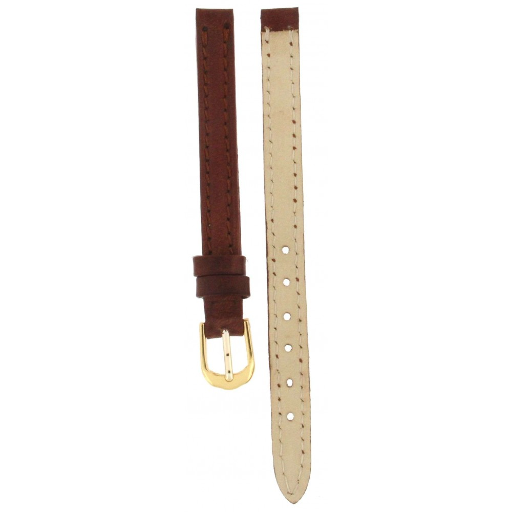 GENUINE LEATHER STRAP BROWN 8MM ACC248-01