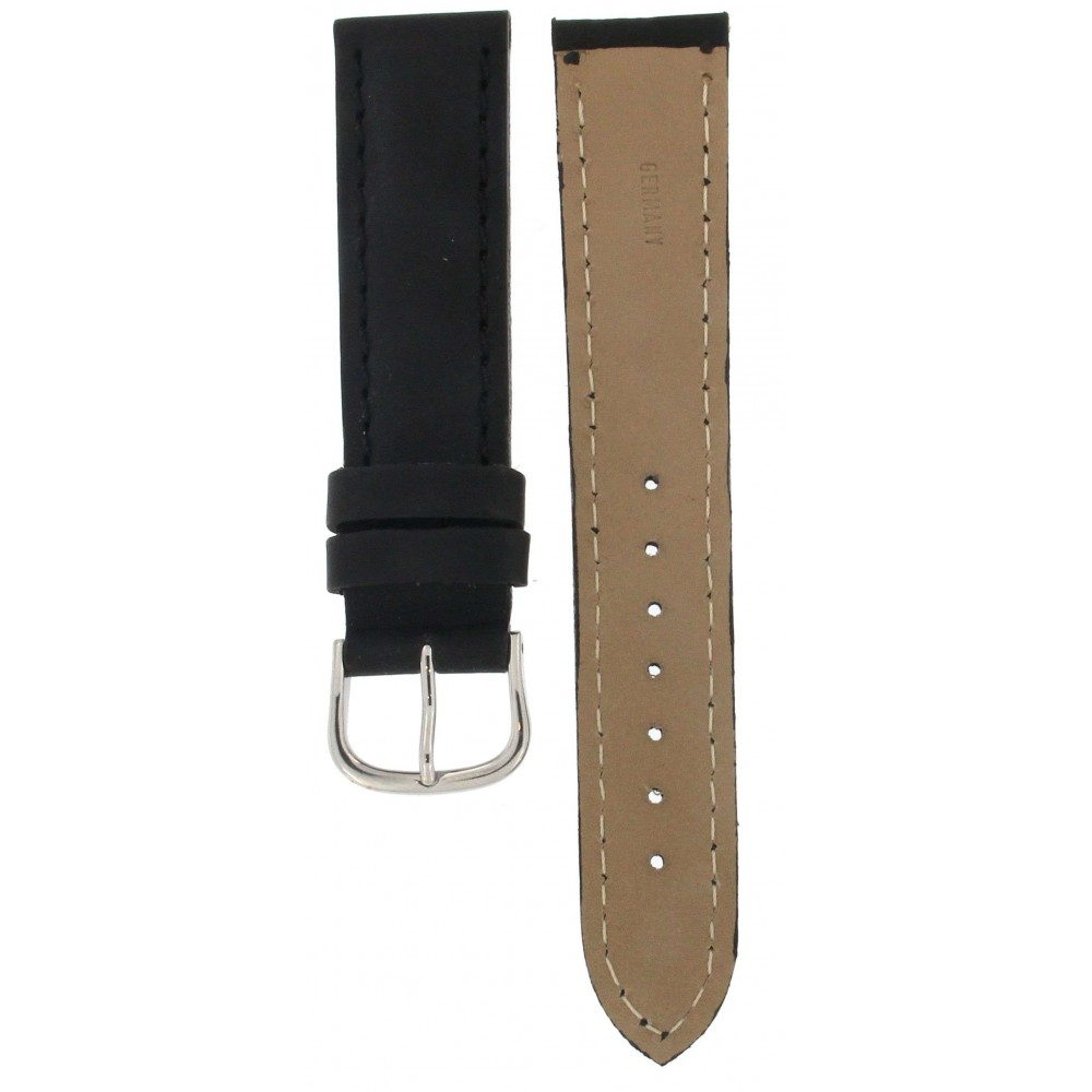 MADE IN GERMANY HARD LEATHER STRAP 20MM ACC228-01