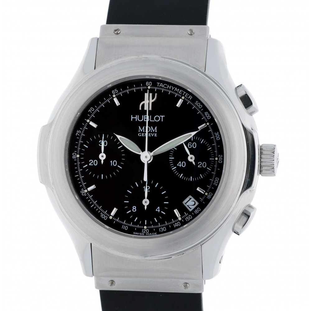 MDM ELEGANT CHRONOGRAPH 1810.1 STEEL 40MM W2582 1810.1-05