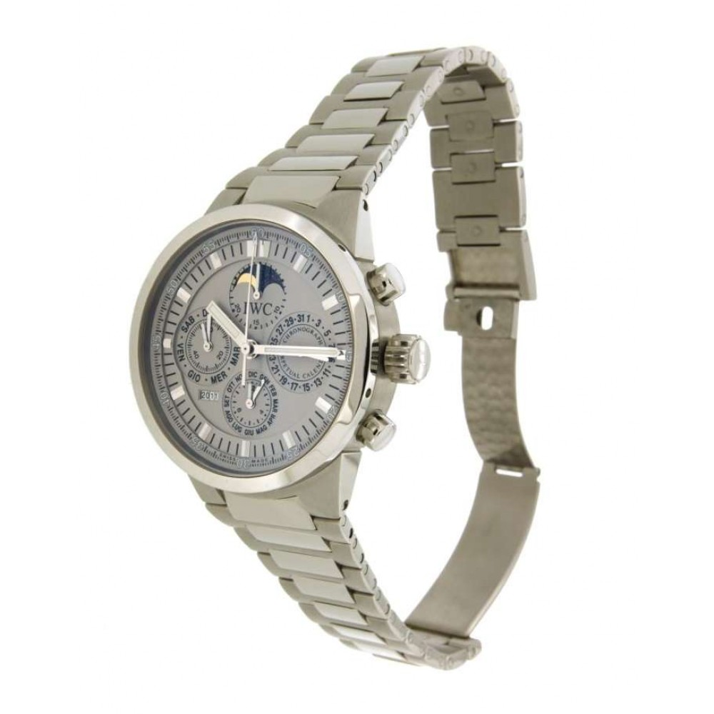 GST CHRONO CALENDARIO PERPETUO IW375606 IN STEEL, W548 IW375606-09