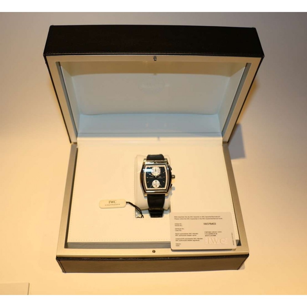 DA VINCI CHRONOGRAPH IW376403 STEEL LEATHER 43x51MM (Official Price: 12.300 CHF) W552 IW376403-05