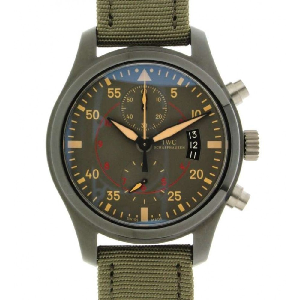 PILOTS MIRAMAR IW388002 STEEL PVD 46MM (Official Price: 12.500 CHF) W302 IWIW388002-09