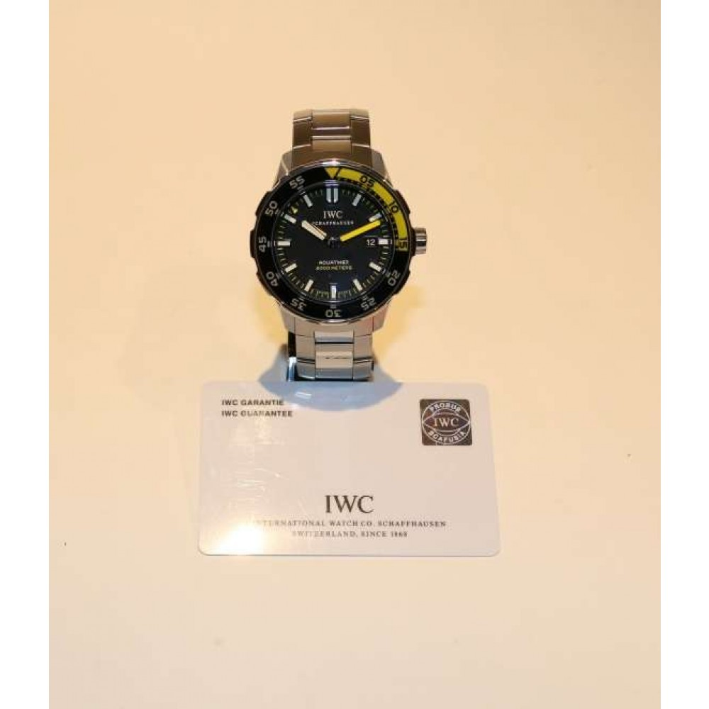 AQUATIMER AUTOMATIC IW356801 STEEL 44MM (Official Price: 6.100 CHF) W639 IW356801-06