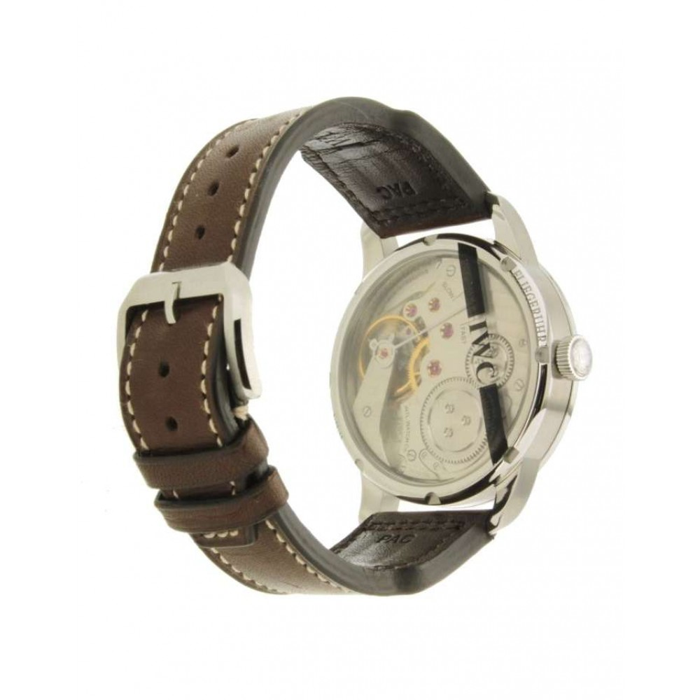 PILOTS WATCH VINTAGE IW325401 IN STEEL AND LEATHER, 44MM W546 IW325401-01