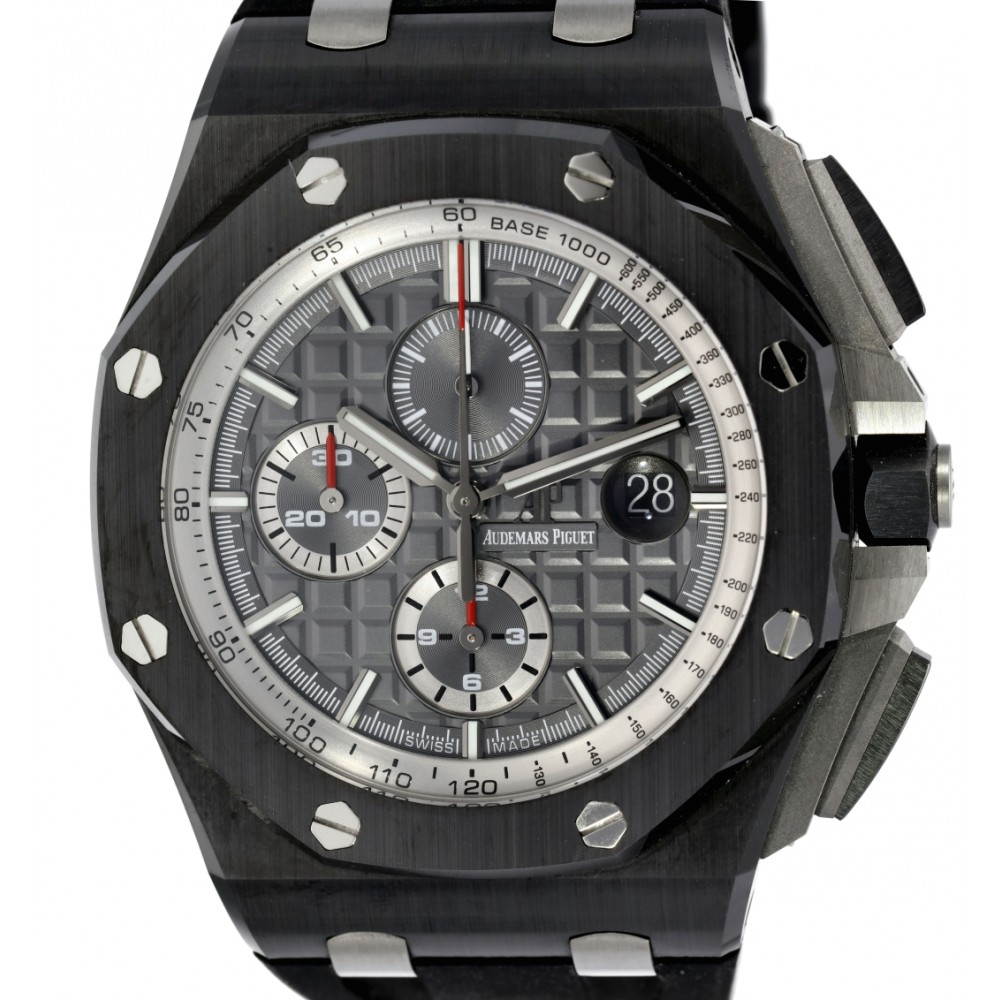 ROYAL OAK OFFSHORE 26405CE.OO.A002CA.01 CERAMIC GREY DIAL 44MM W3614 26405CE.OO.A002CA.01-02