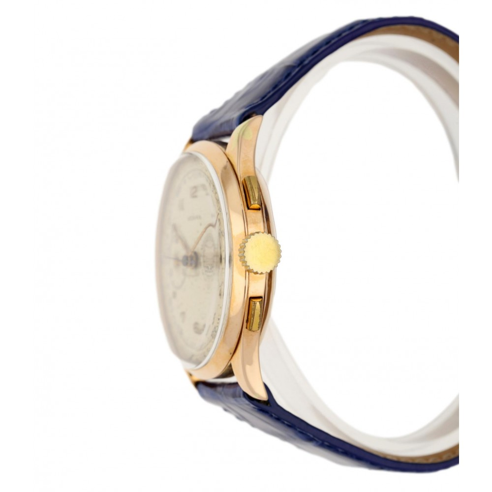 LEDIAN CHRONOGRAPH VINTAGE IN YELLOW GOLD 38MM W5182 .-03