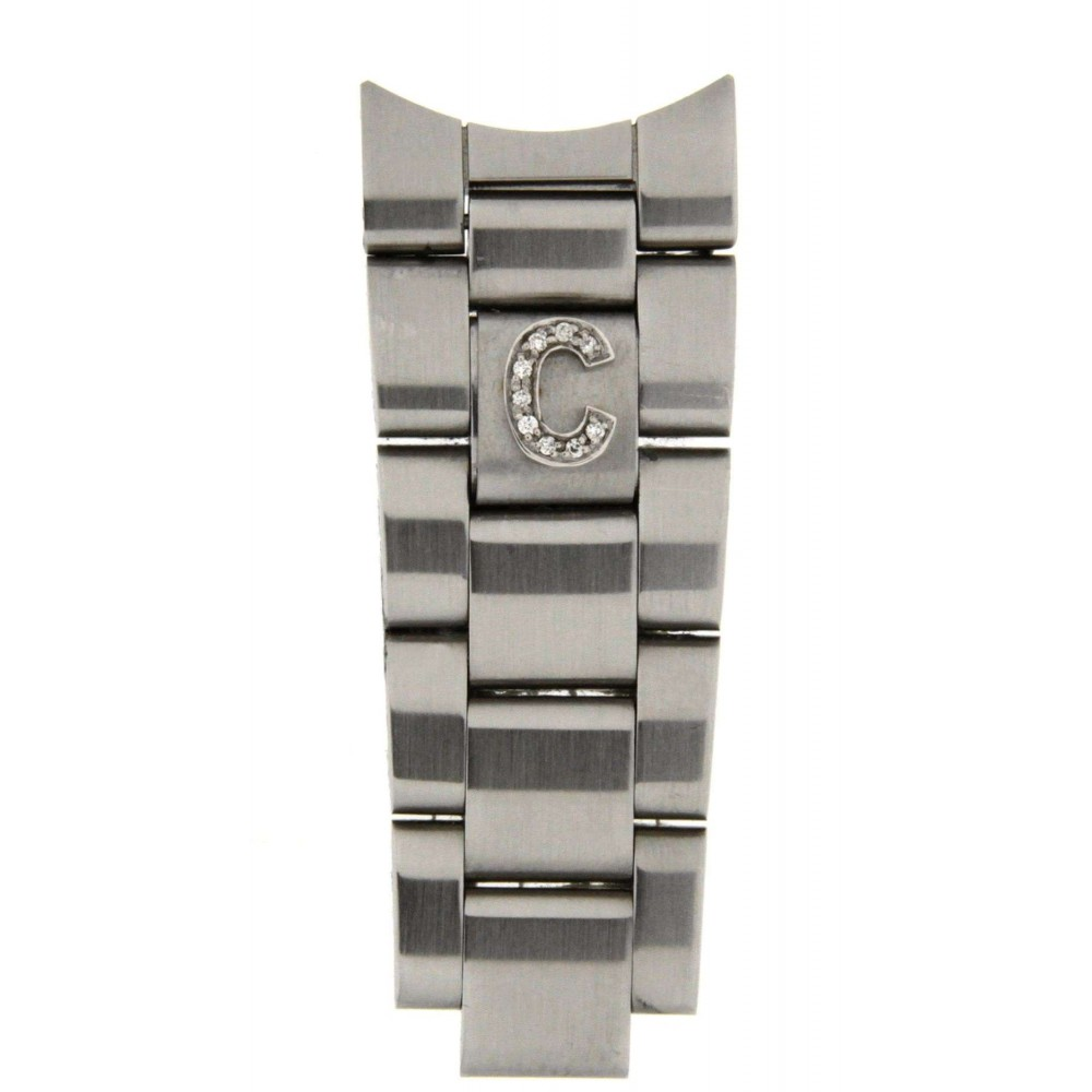 """LETTER """"C"""" IN DIAMONDS ACCESSORY FOR ROLEX OYSTER BRACELETS ACC37 .-01"""