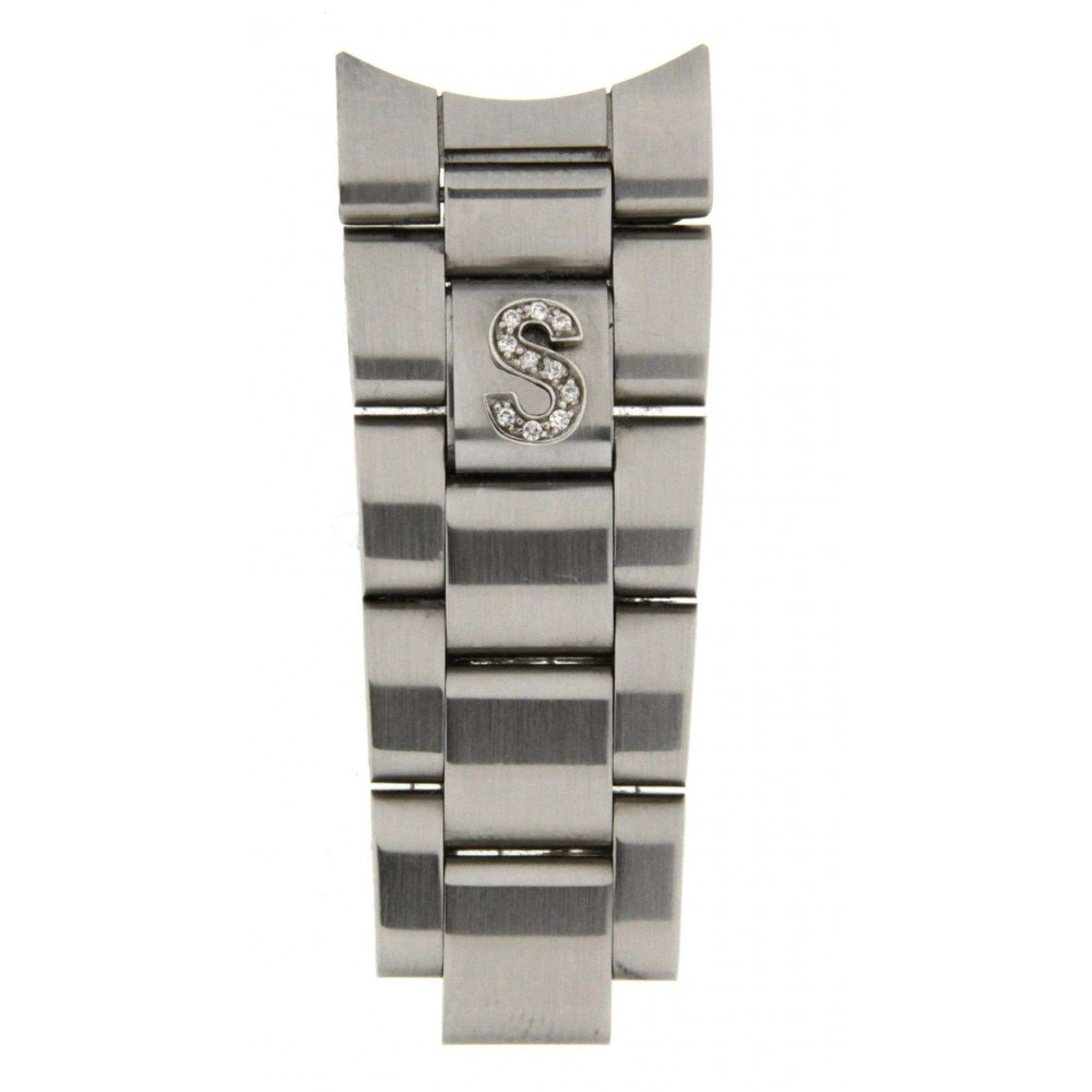 """LETTER """"S"""" IN DIAMOND ACCESSORY FOR ROLEX OYSTER BRACELETS ACC34 .-01"""