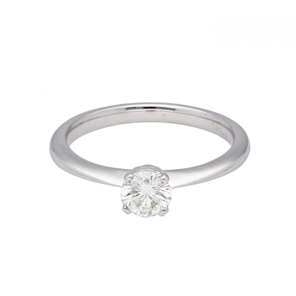 RING IN WHITE GOLD AND 0.57ct DIAMONDS J981-01