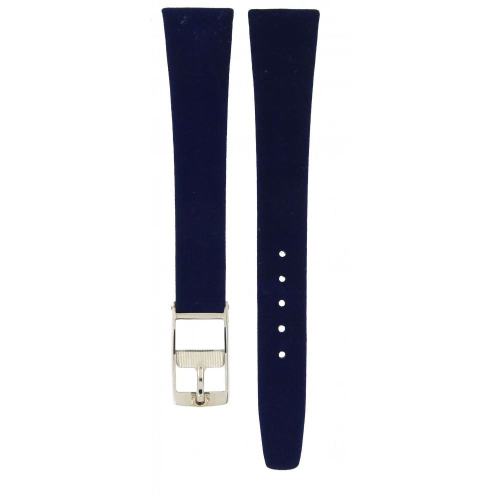 OMEGA CLASSIC CHAMOIS BLUE LEATHER STRAP 14.5MM/10MM ACC76-02