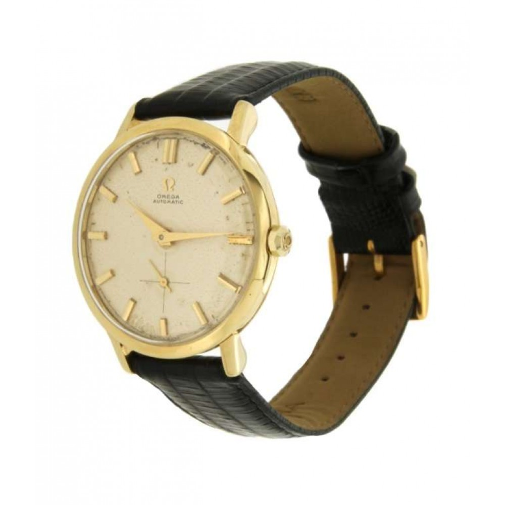 OMEGA CLASSIC IN YELLOW GOLD, 36MM W854 1234-01