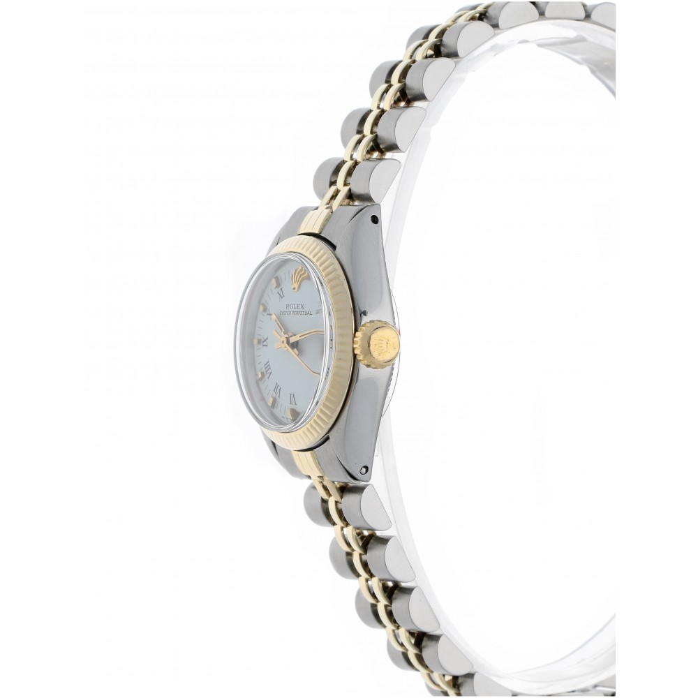 OYSTER PERPETUAL 6719 STEEL YELLOW GOLD 26MM W2544 6719-01