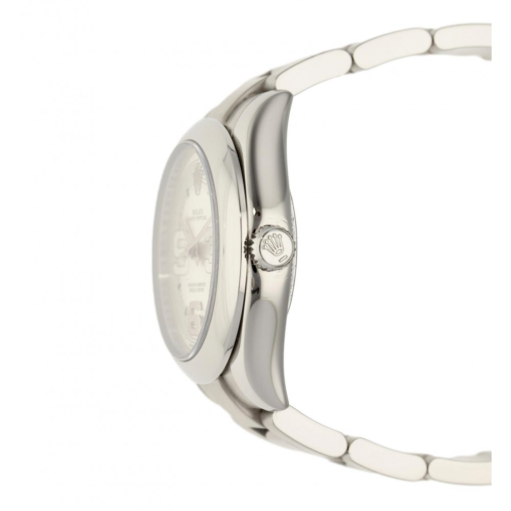 OYSTER PERPETUAL 177200 STAINLESS STEEL 31MM FULL SET W5180 177200-03