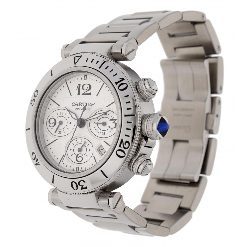 PASHA CHRONOGRAPH 2995 STAINLESS STEEL 42MM W3466 2995-03