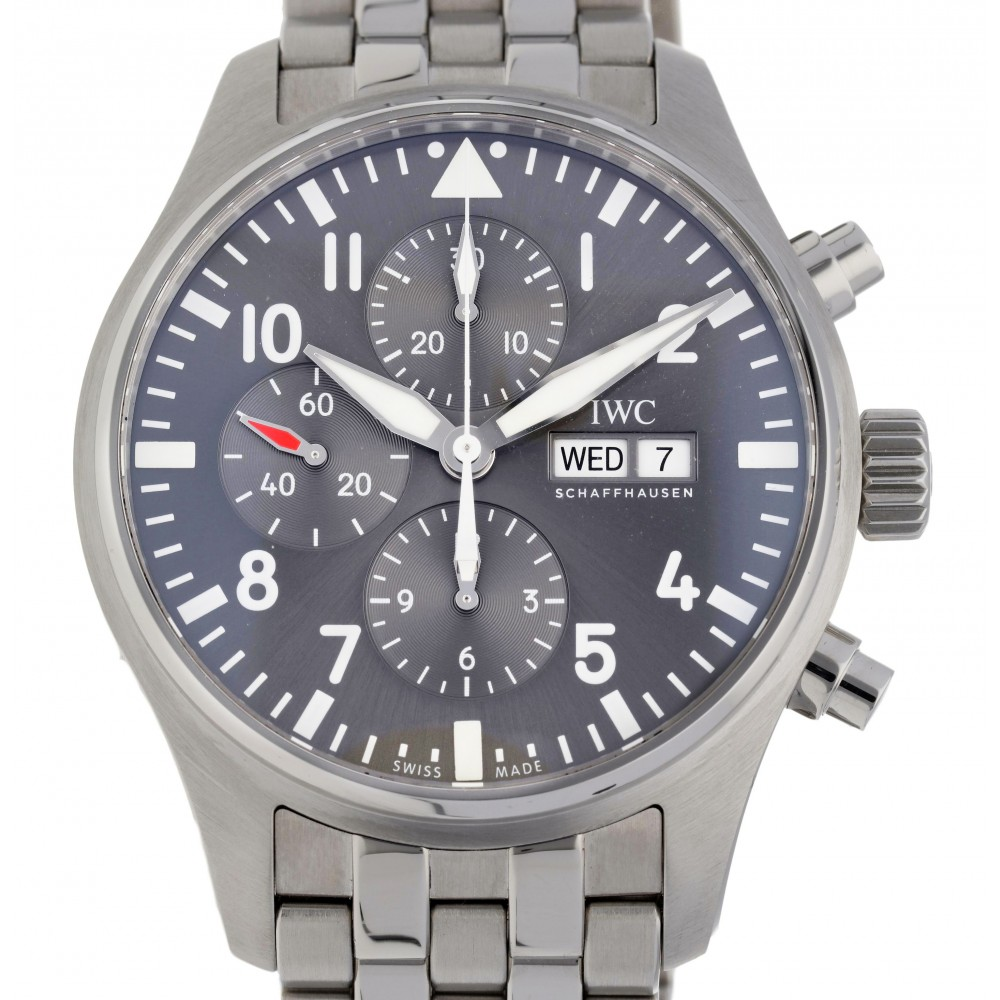 PILOT SPITFIRE IW377719 STAINLESS STEEL 43MM W3383 IW377719-09