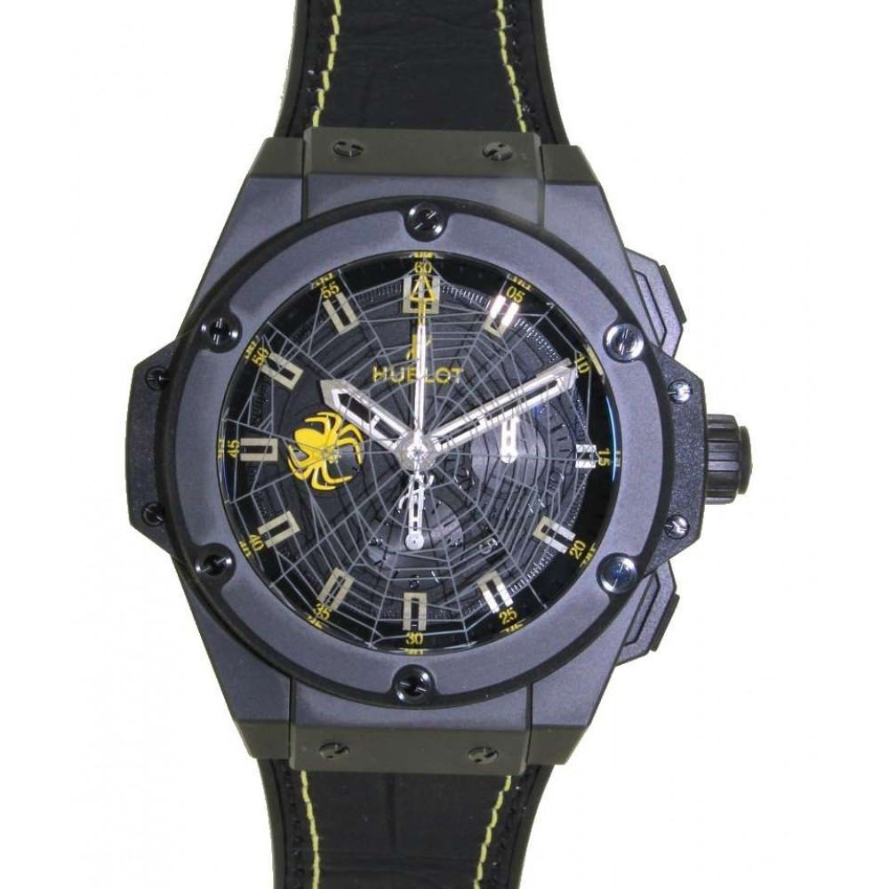 KING POWER SPIDER FOR ANDERSON SILVA LIMITED EDITION 100PC 48MM list price 18500€ W743 703.CI.1119.GR.SPDI3-012