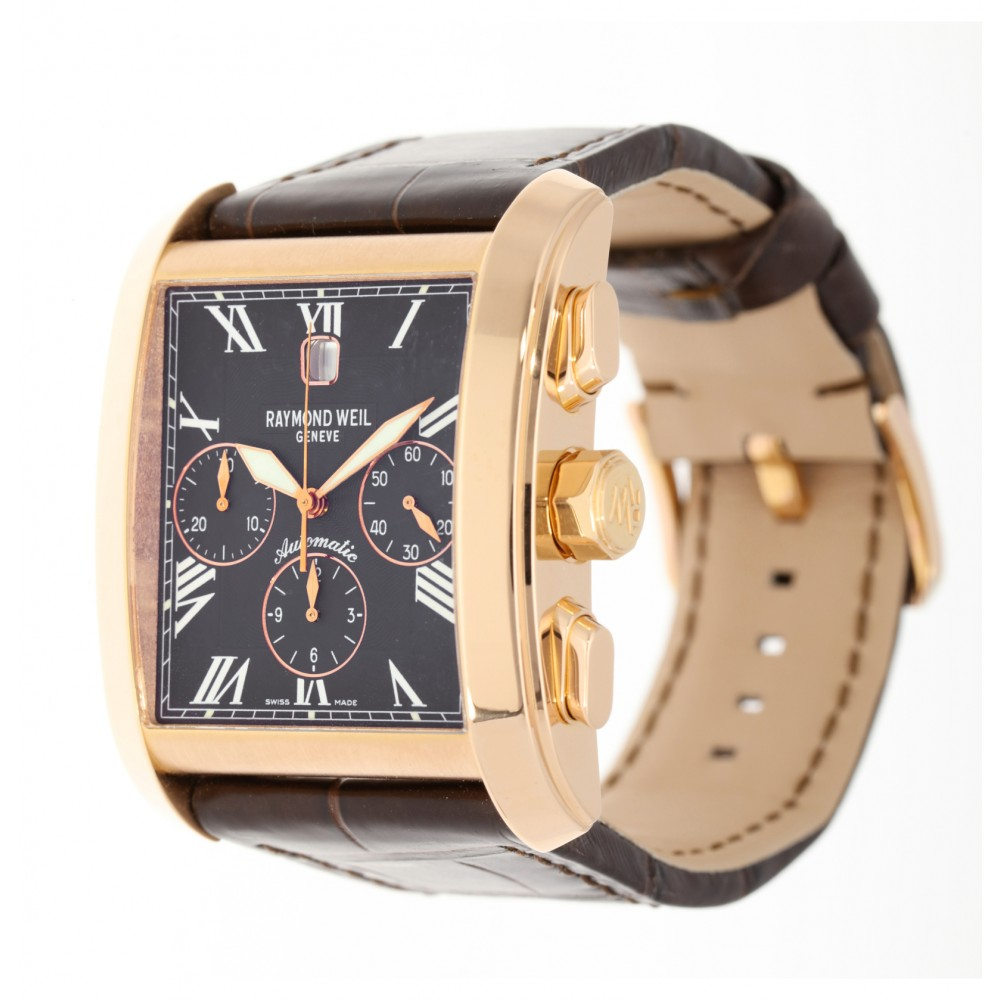 DON GIOVANNI 14885-G-00209 ROSE GOLD 18K LEATHER 50X37.6MM W4857 14885-G-00209-02