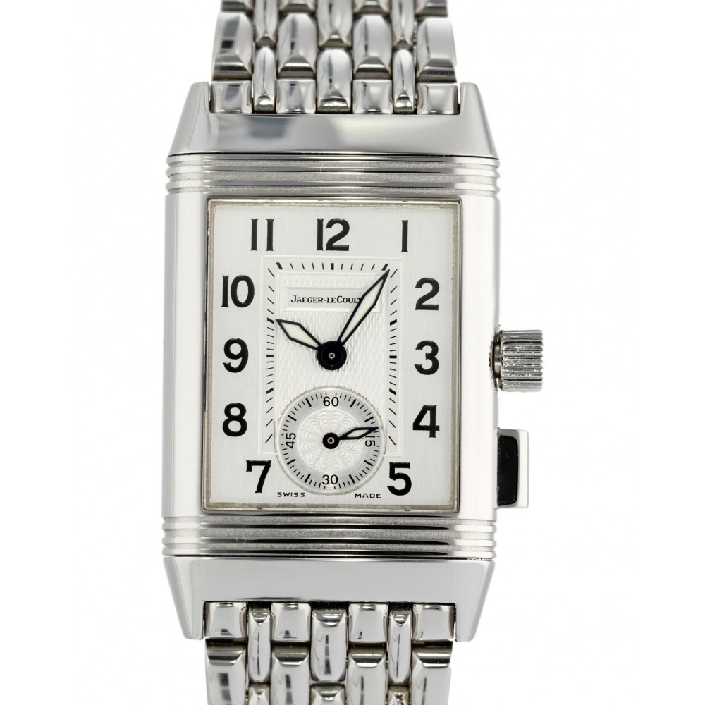 REVERSO MEMORY CHRONOGRAPH DUOFACE 255.8.82 STAINLESS STEEL 23MM x 38MM W3690 255.8.82-04