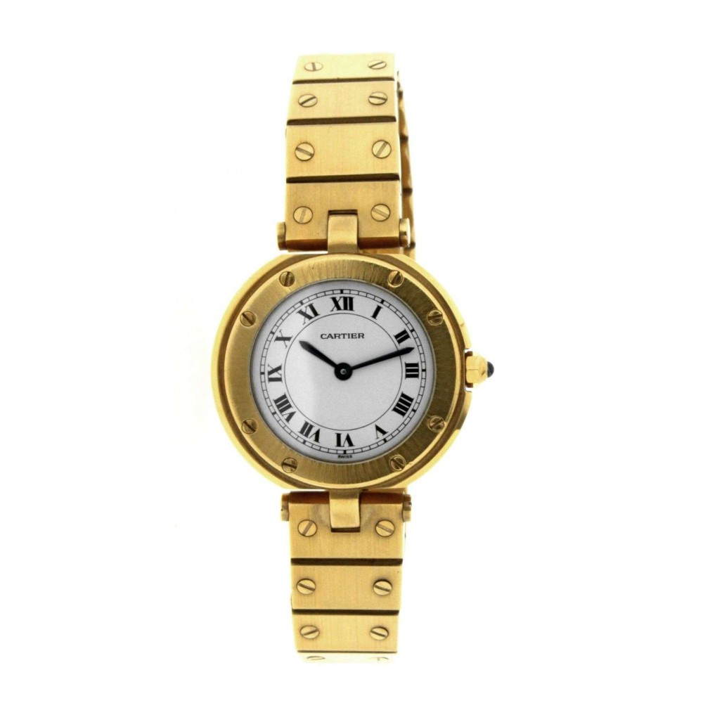 SANTOS RONDE W3315 IN 18KT YELLOW GOLD W006 W3315-06