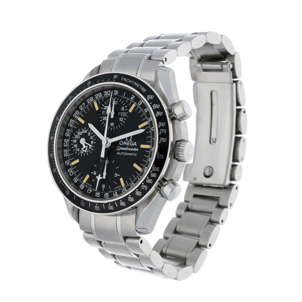 SPEEDMASTER 35205000 STEEL 39MM W2775 35205000-03