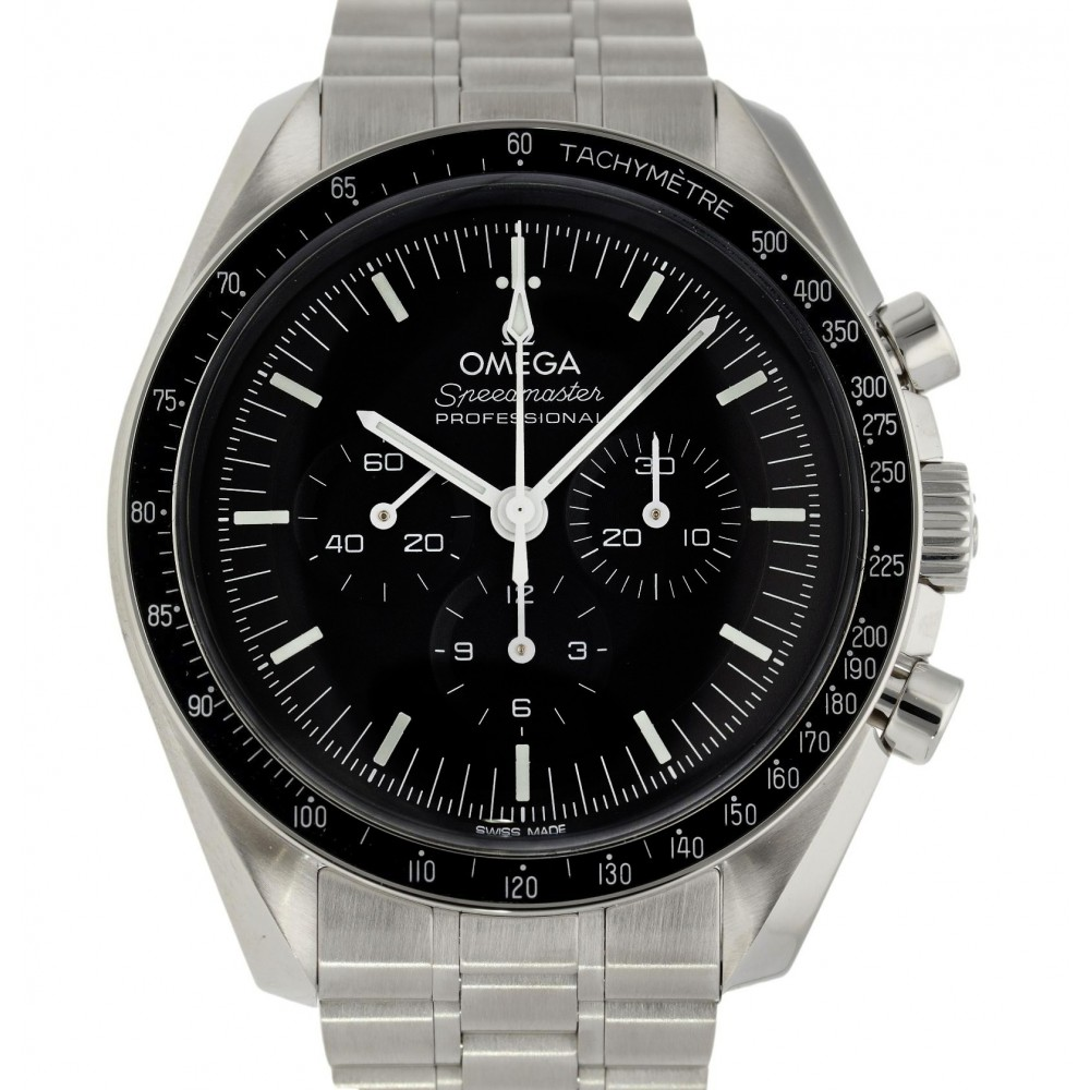 SPEEDMASTER MOONWATCH PROFESSIONAL CO-AXIAL MASTER 310.30.42.50.01.001 CHRONOGRAPH 42 MM FULL SET NEW W5136 310.30.42.50.01.001 /-03