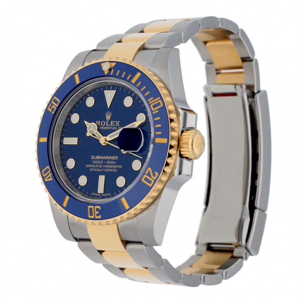 SUBMARINER 116613LB STAINLESS STEEL YELLOW GOLD 18KT 40MM W3513 116613LB-04