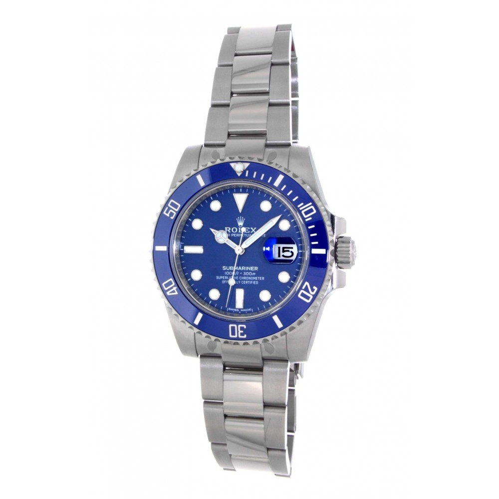 SUBMARINER 116619LB WHITE GOLD 40MM W337 116619LB-017