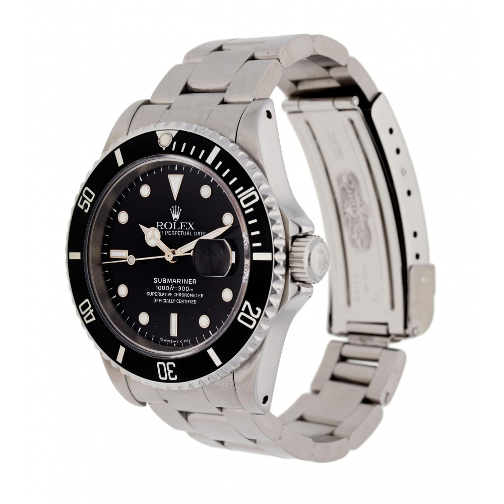 SUBMARINER 16610 STEEL 40MM W3438 16610-03
