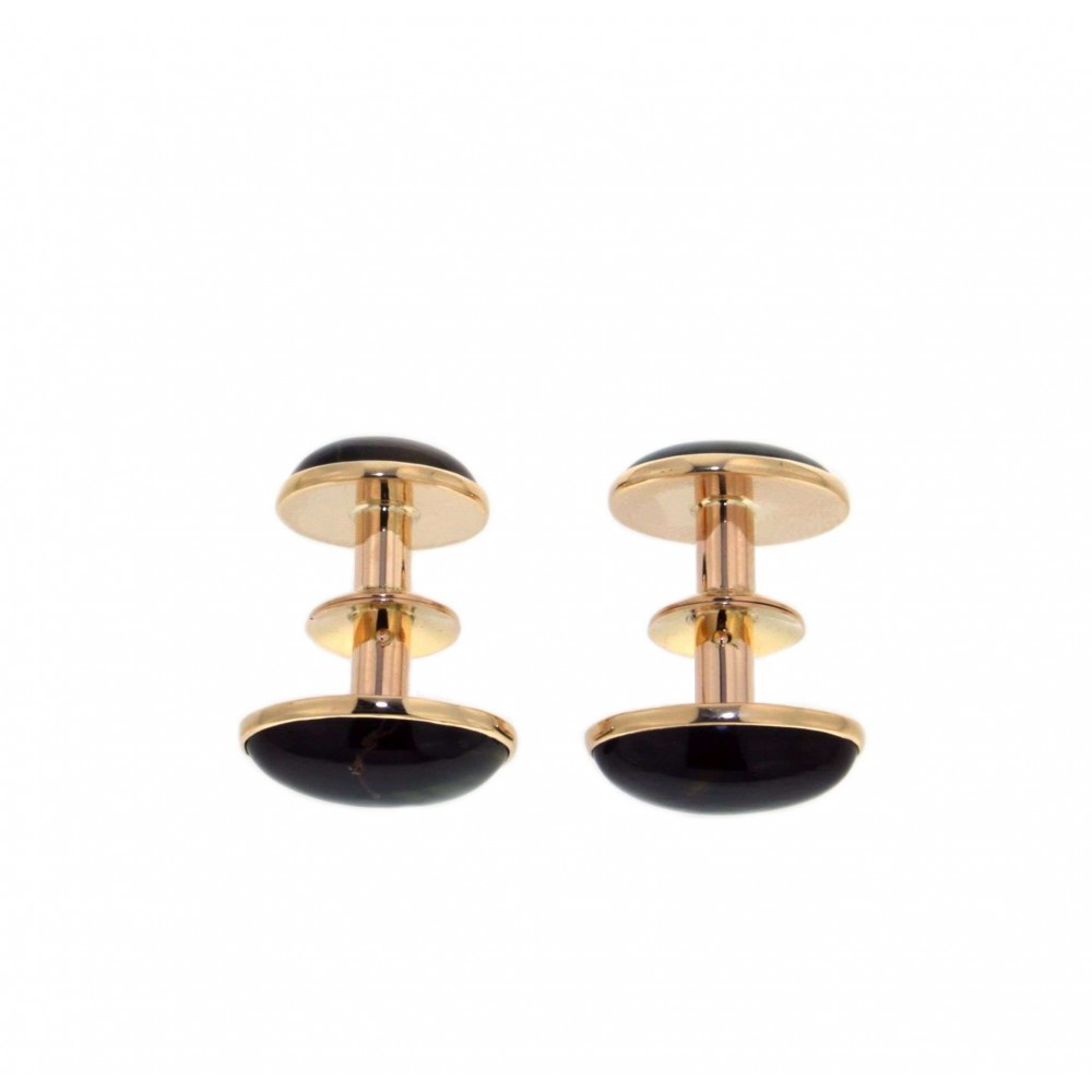 VAN CLEEF and APPELS CUFFLINKS 15.8GR J7746-03