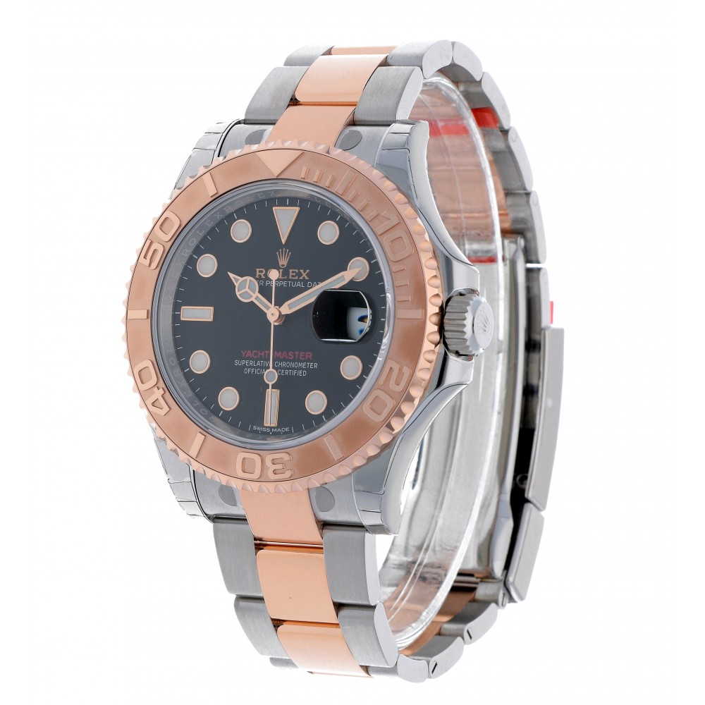 YACHT MASTER 116621 STEEL ROSE GOLD 40MM W2672 116621-03