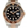 GMT II 126711CHNR STAINLESS STEEL ROSE GOLD 18K 40MM NEW W4030 126711CHNR-04